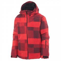 Ski jacket Rossignol Matrix Junior red