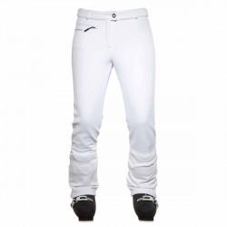Pantalones esquí Rossignol Glee Softshell Mujer blanco