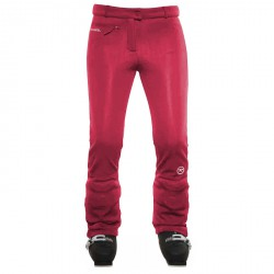 Pantalone sci Rossignol Glee Softshell Donna rosso
