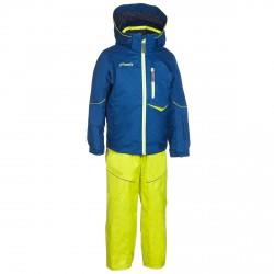 Conjunto esquí Phenix SukuSuku Hardenger Niño azul-amarillo