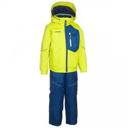 Ski suit Phenix SukuSuku Hardenger Junior yellow-blue