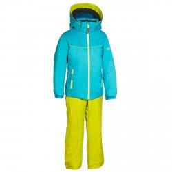 Ski suit Phenix SukuSuku Snow Flower Girl teal