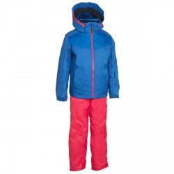 Ski suit Phenix SukuSuku Bergen Girl blue-pink