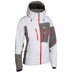 Chaqueta esquí Phenix Mush II Mujer blanco