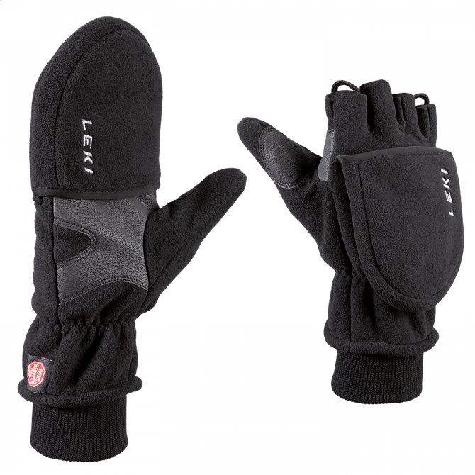 Guanti Double Down Gloves Nero