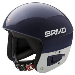 Casque de ski Briko Vulcano Fis 6.8 Junior bleu-blanc