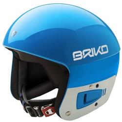 Casque de ski Briko Vulcano Fis 6.8 Junior turquoise-blanc
