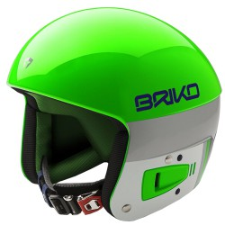 Casque de ski Briko Vulcano Fis 6.8 Unisex vert-blanc