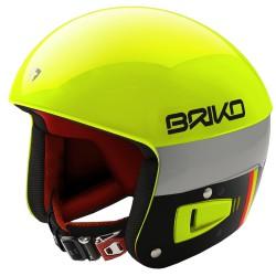 Casque de ski Briko Vulcano Fis 6.8 Unisex jaune-noir