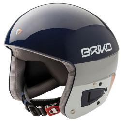 Casco sci Briko Vulcano Fis 6.8 Unisex blu-bianco