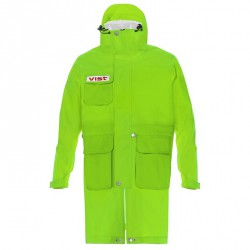 Mantella sci Vist Rain coast adjustable verde fluo