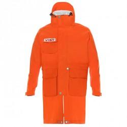 Mantella sci Vist Rain coast adjustable arancio fluo