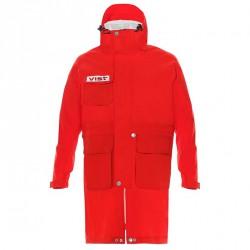 Capa de esquì Vist Rain coat Junior rojo