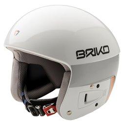 Casque de ski Briko Vulcano Fis 6.8 Unisex blanc-noir
