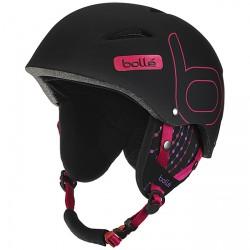 Ski helmet Bollè B-Style Unisex black-fuchsia