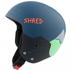 Casque de ski Shred Basher Noshock Unisex bleu-vert