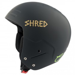 Casque de ski Shred Basher Noshock Unisex noir-or