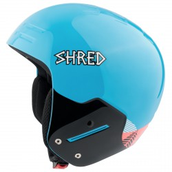 Casque de ski Shred Basher Noshock Unisex bleu clair-rose