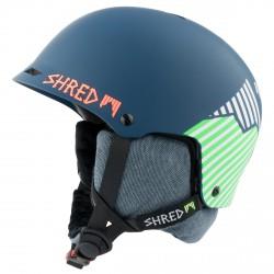 Casque de ski Shred Half Brain D-Lux bleu