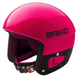 Casque de ski Briko Vulcano Fis 6.8 Junior fuchsia-noir