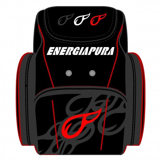 Mochila para botas de esquì Energiapura Racer Junior
