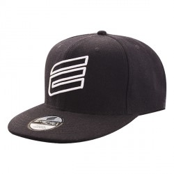 Hat Energiapura Snap Back black-white