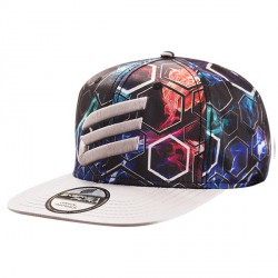 Berretto Energiapura Snap Back nero-argento