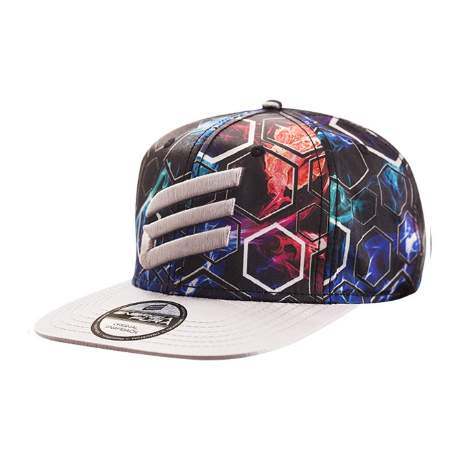 Berretto Energiapura Snap Back nero-argento ENERGIAPURA Cappelli guanti sciarpe