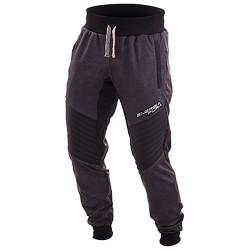 Pantalone felpa Energiapura Color antracite-nero