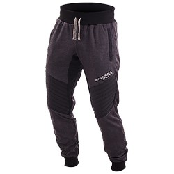 Pantalone felpa Energiapura Color antracite-nero
