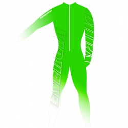 Racing suit Energiapura Bold Junior green-white