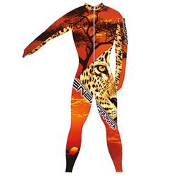 Traje de carrera Energiapura Tiger leopardo Unisex