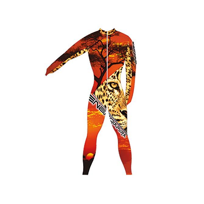 Tuta da gara Energiapura Tiger leopardo Unisex