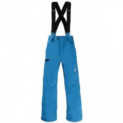 Pantalone sci Spyder Propulsion Bambino azzurro