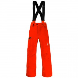 Pantalon ski Spyder Propulsion Garçon orange