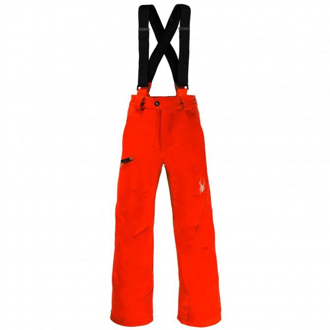Pantalone sci Spyder Propulsion Bambino arancione