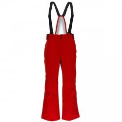 Pantalones esquí Spyder Bormio Hombre rojo