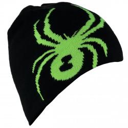 Chapeau Spyder Bug Reversibile Garçon noir-vert