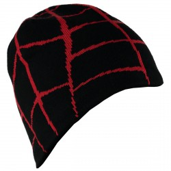 Chapeau Spyder Web Garçon noir-rouge