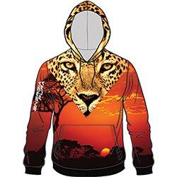 Felpa Energiapura Animal face savana-leopardo