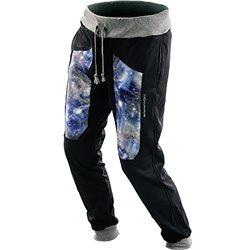 Pantalone tuta Energiapura Universe A356/nero-Universo