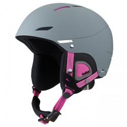 Ski helmet Bollè Juliet Woman grey-pink