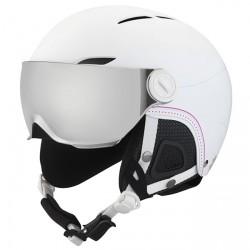 Ski helmet Bollè Juliet Visor Woman white-black