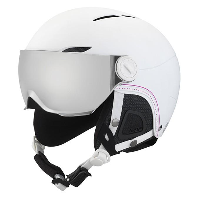 casco sci donna  Casco sci Bollè Juliet Visor - Caschi sci - su Bottero ski