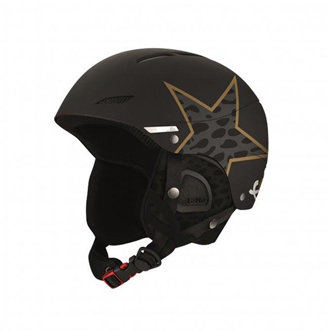 Ski Helmet Bollé Juliet Anna Fenninger black-gold-grey