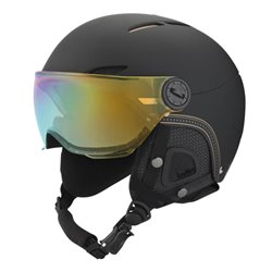 Ski helmet Bollè Juliet Visor Woman black-gold