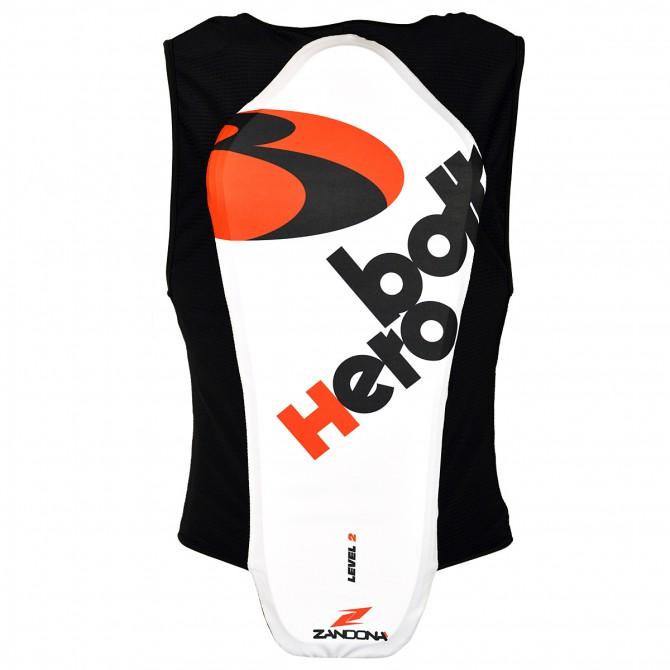 Gilet paraschiena Bottero Ski x 6 Soft Active bianco-nero-rosso