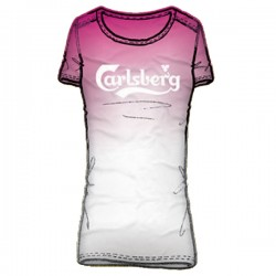 t-shirt Carlsberg woman