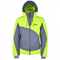Chaqueta esquí Colmar Soft Hombre verde-gris