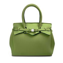 Borsa Save My Bag Miss verde salvia